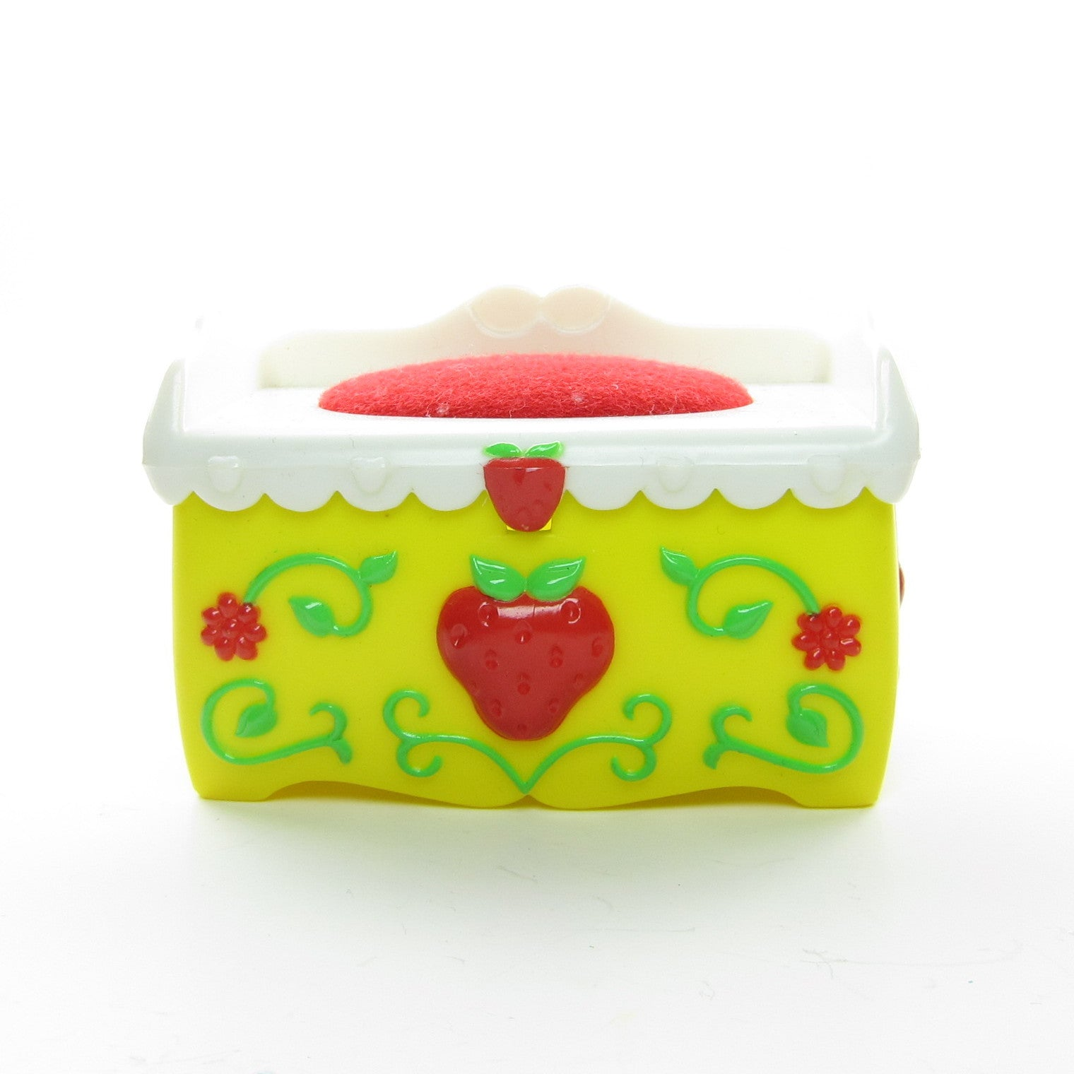 Toy Chest for Strawberry Shortcake Berry Happy Home dollhouse
