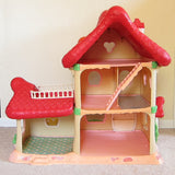 Vintage Strawberry Shortcake Berry Happy Home dollhouse