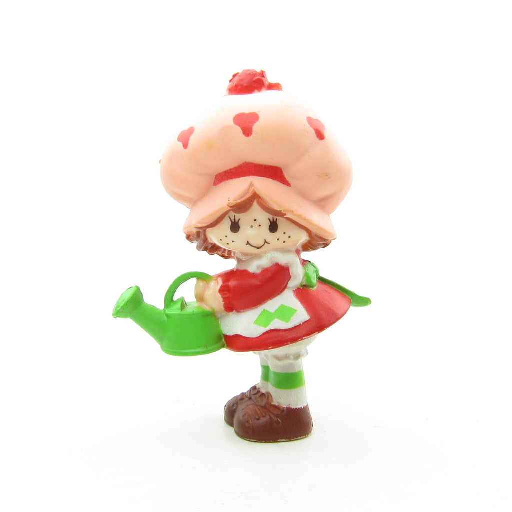 Strawberry Shortcake with Her Watering Can Miniature Figurine
