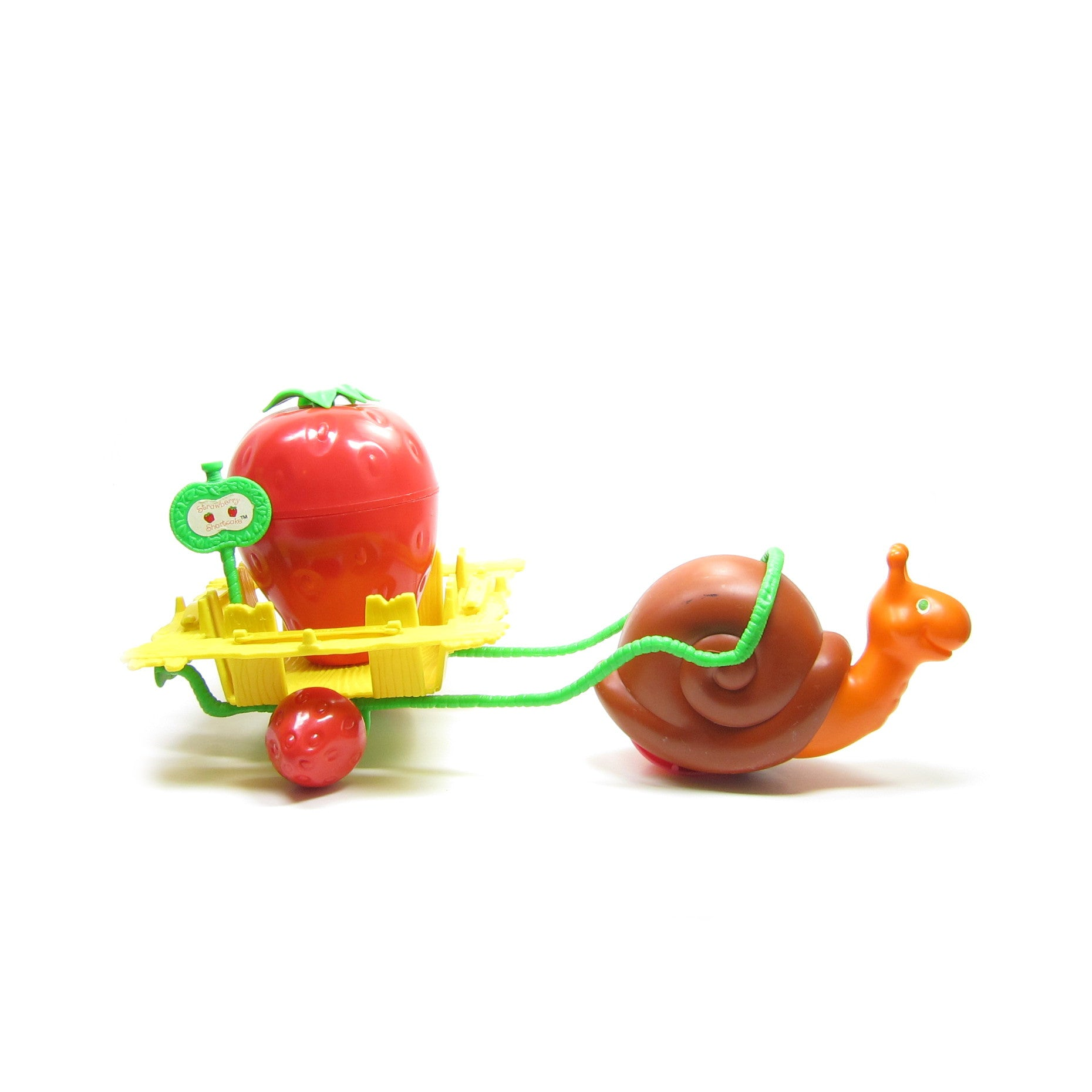 Strawberry Shortcake Snail Cart playset
