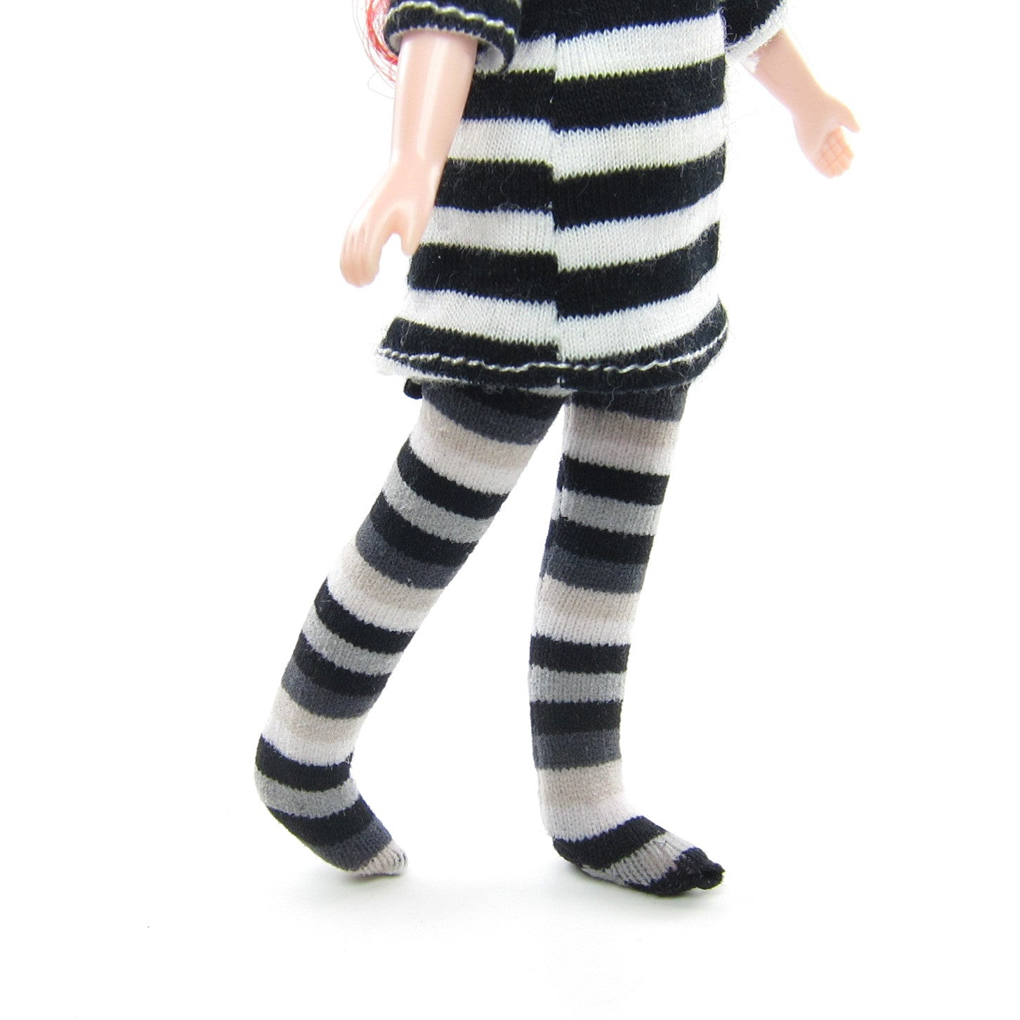 Striped stockings for Middie Blythe dolls