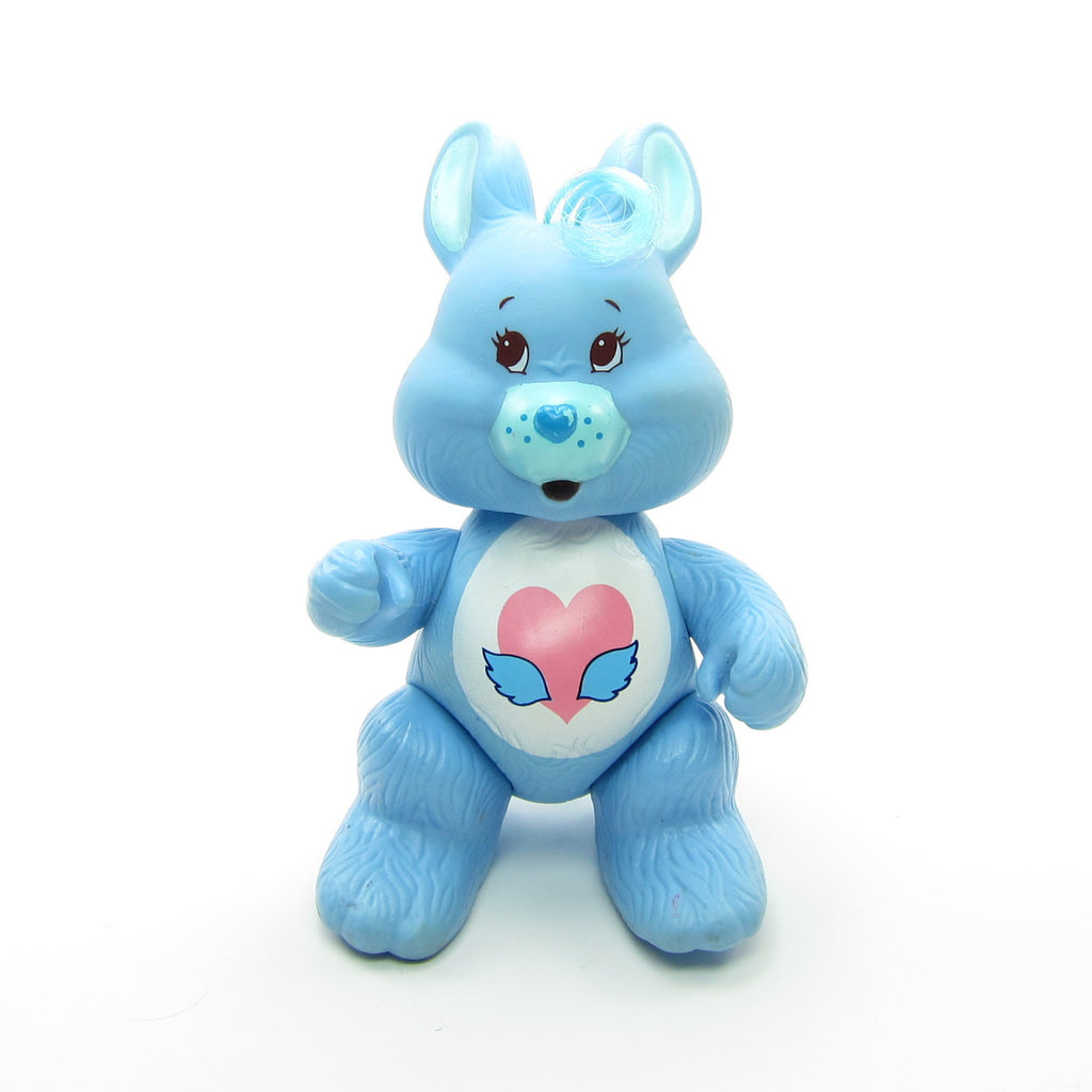 Swift Heart Rabbit Vintage Care Bears Cousins Poseable 3-Inch Figure