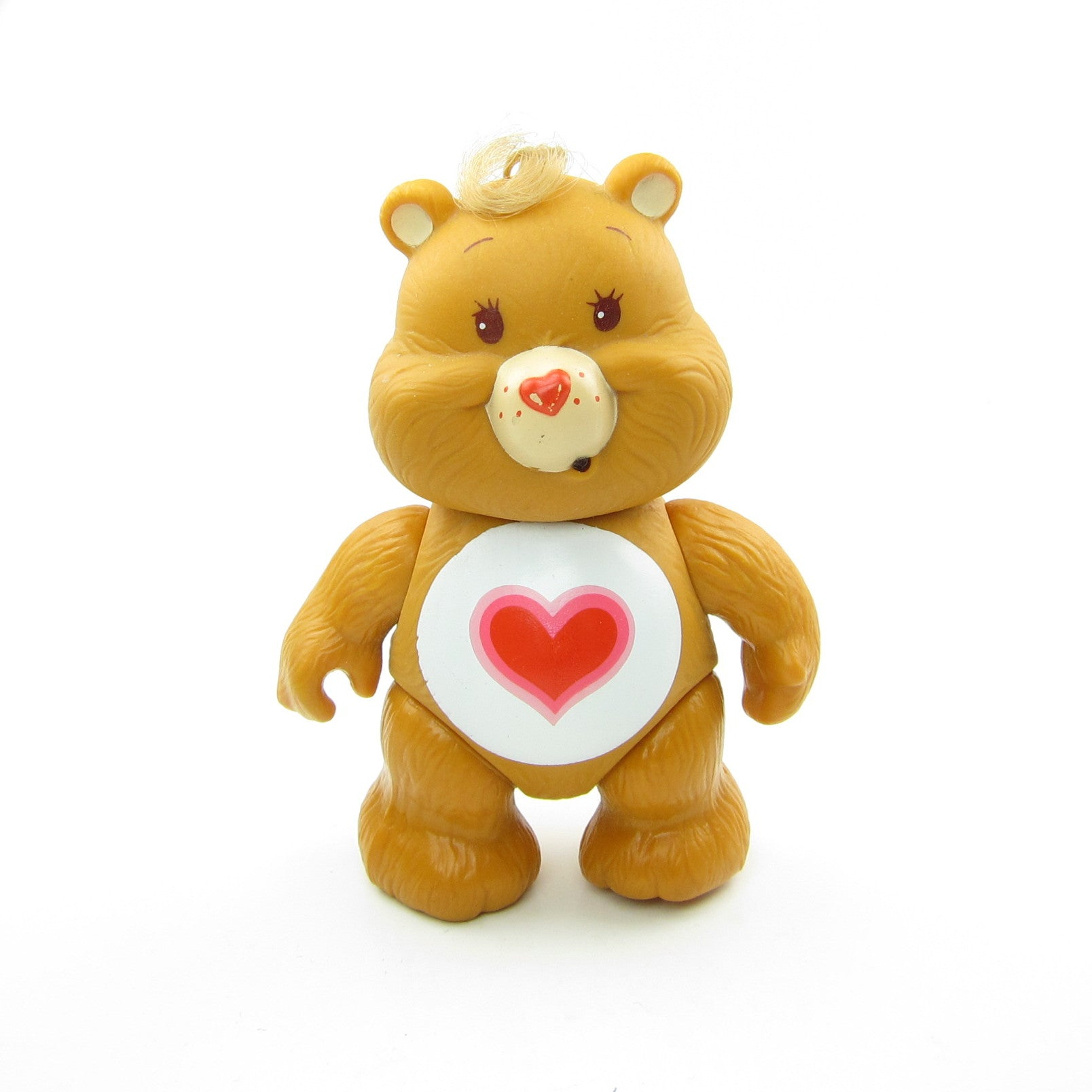 Tenderheart Bear 3 inch poseable Care Bears toy