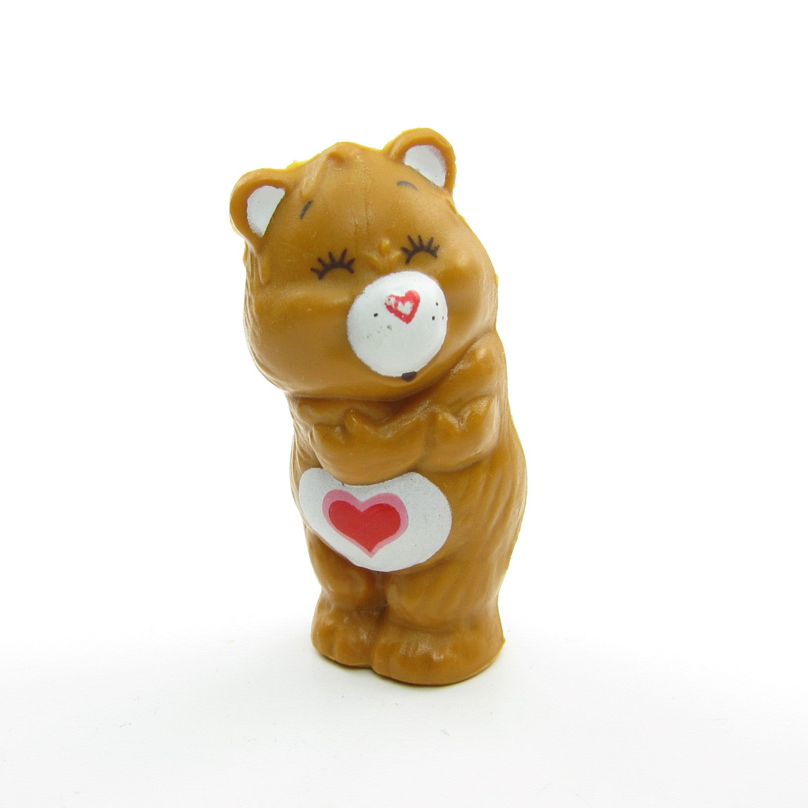 Tenderheart Bear Giving Himself a Hug miniature figurine