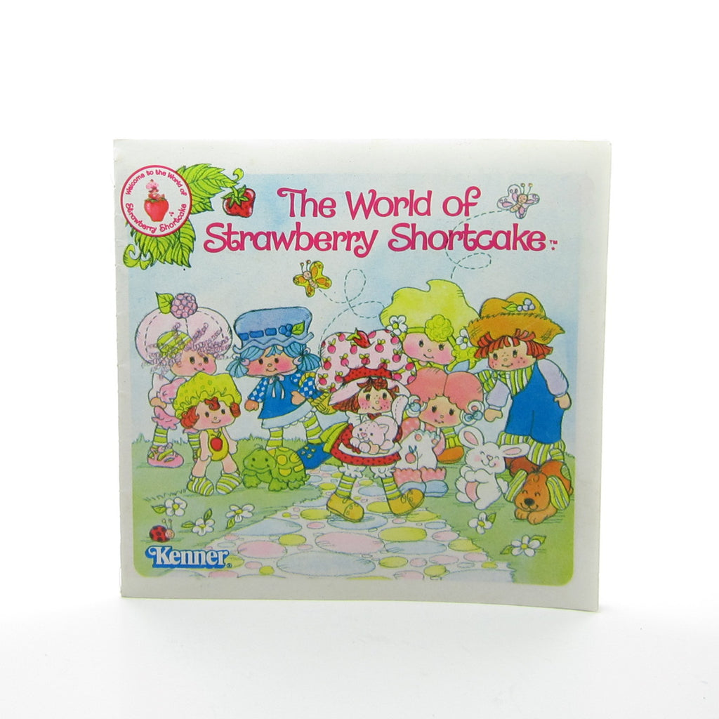 1981 Strawberry Shortcake Pamphlet Vintage Advertising Toy Brochure Booklet