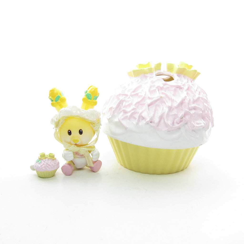 Tiny Daffodil Dumpling Coconut Cupcake Blanket Tea Bunnies Baby Toy