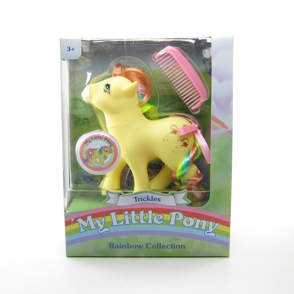 Trickles My Little Pony Rainbow Ponies 2018 Classic Toy