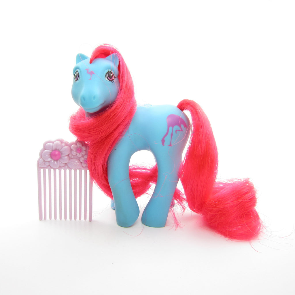 Tropical Breeze Flutter Pony Vintage G1 My Little Pony