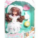 Peppermint Rose Vanilla Daisy doll in box