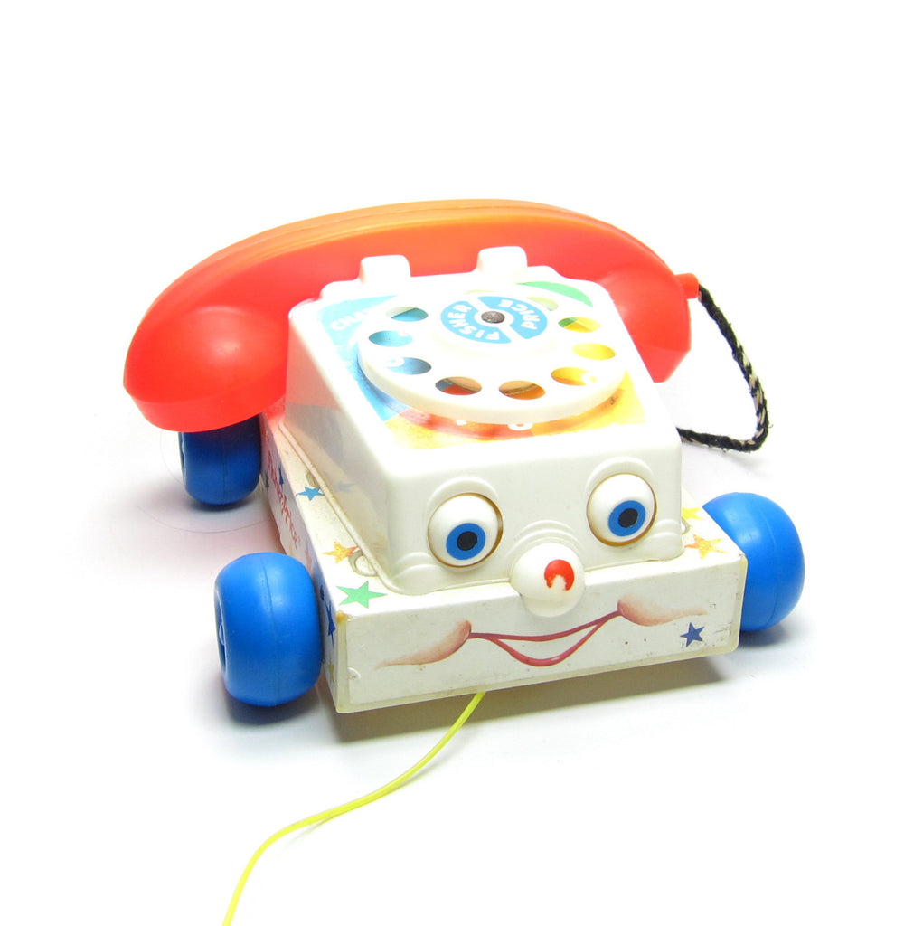 Chatter Telephone Toy Vintage 1985 Fisher-Price
