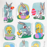 Bugs Bunny and Tweety Bird Easter stickers from Hallmark Expressions
