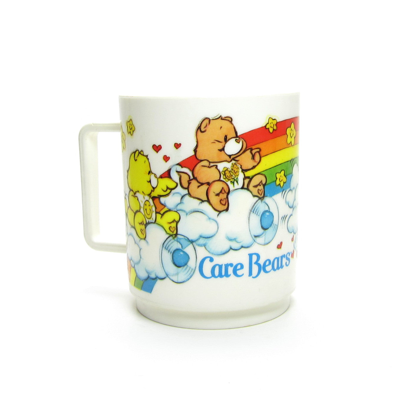 Care Bears plastic Deka cup or mug with handle