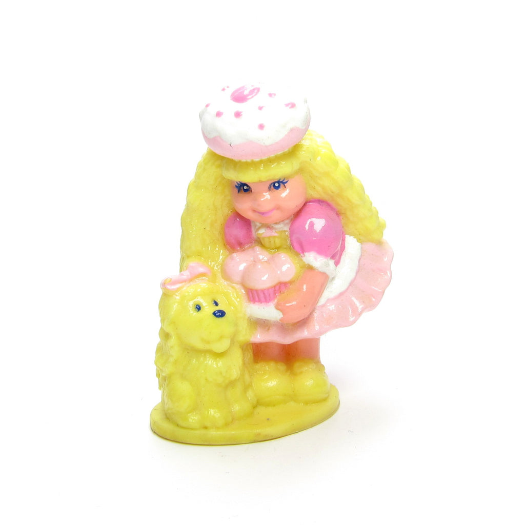 Cherry Merry Muffin Miniature PVC Figurine with Dog