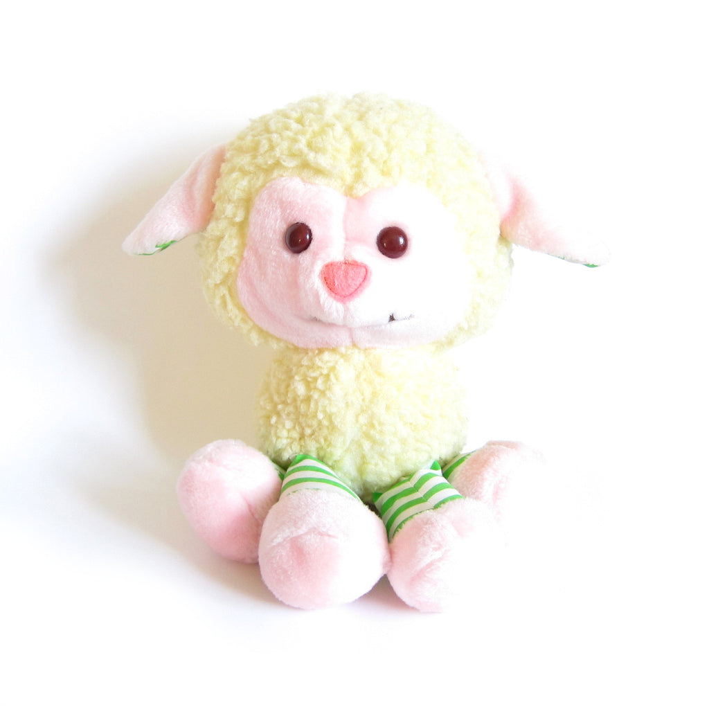 Melonie Belle Plush Soft Animal Friends Peach Blush Pet