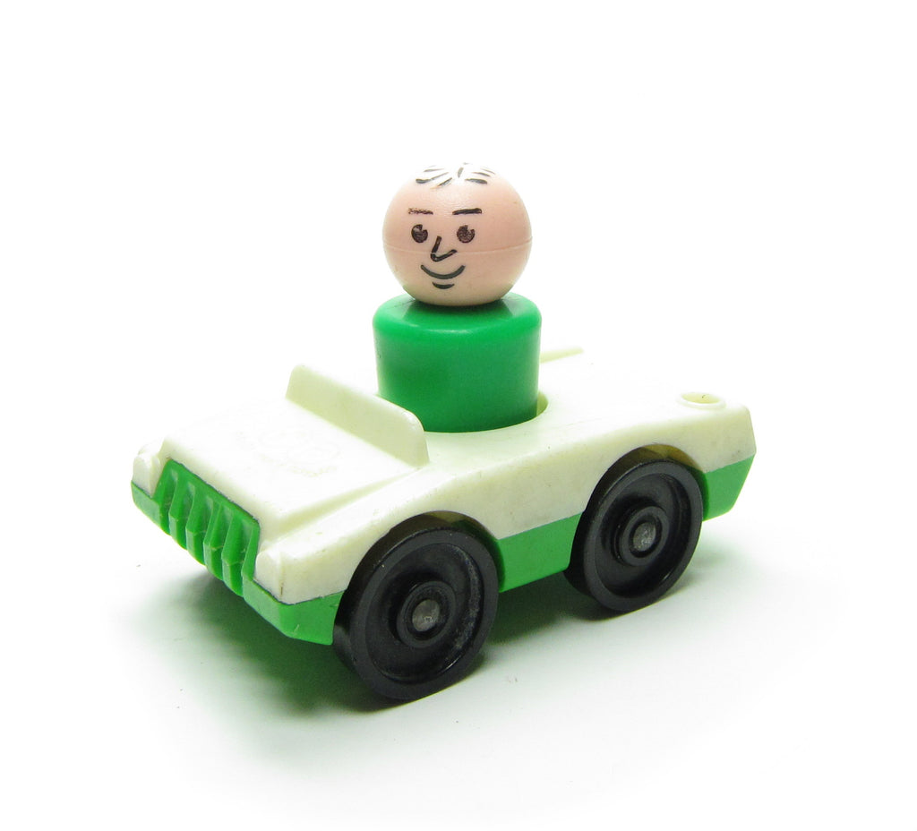 Fisher-Price Little People Car with Man Figure