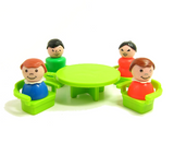 Fisher-Price Play Family Little People with table and chairs