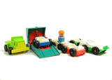 Vintage Little People Play Family cars and trucks