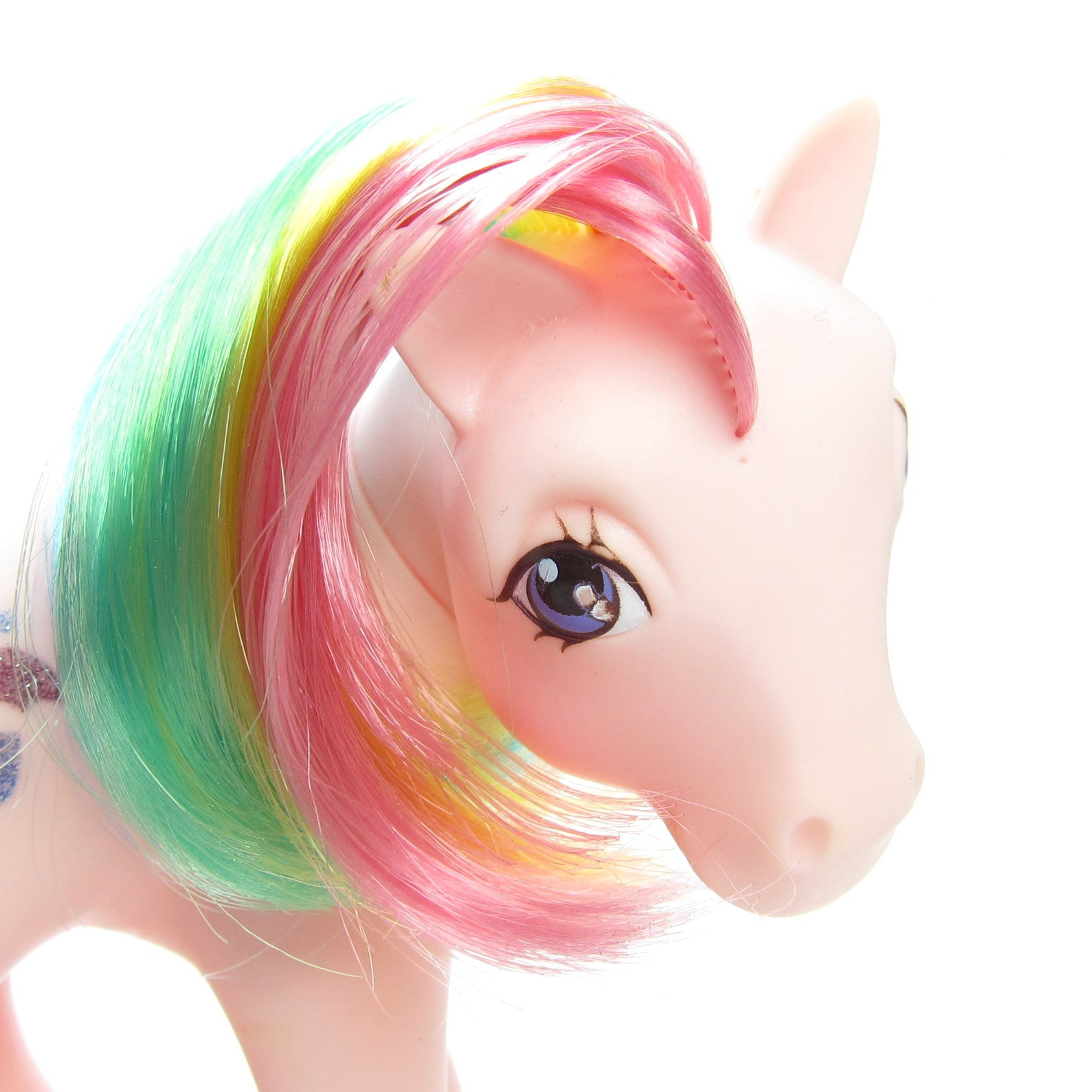 Parasol My Little Pony Vintage G1 Rainbow Hair Brown Eyed Rose