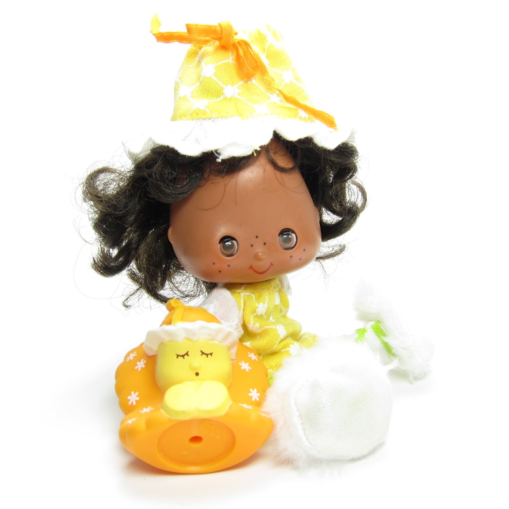 Uncategorized Orange Blossom Strawberry Shortcake orange blossom sweet sleeper doll with marmalade butterfly pet pet