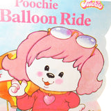 Poochie Balloon Ride fuzzy shape book