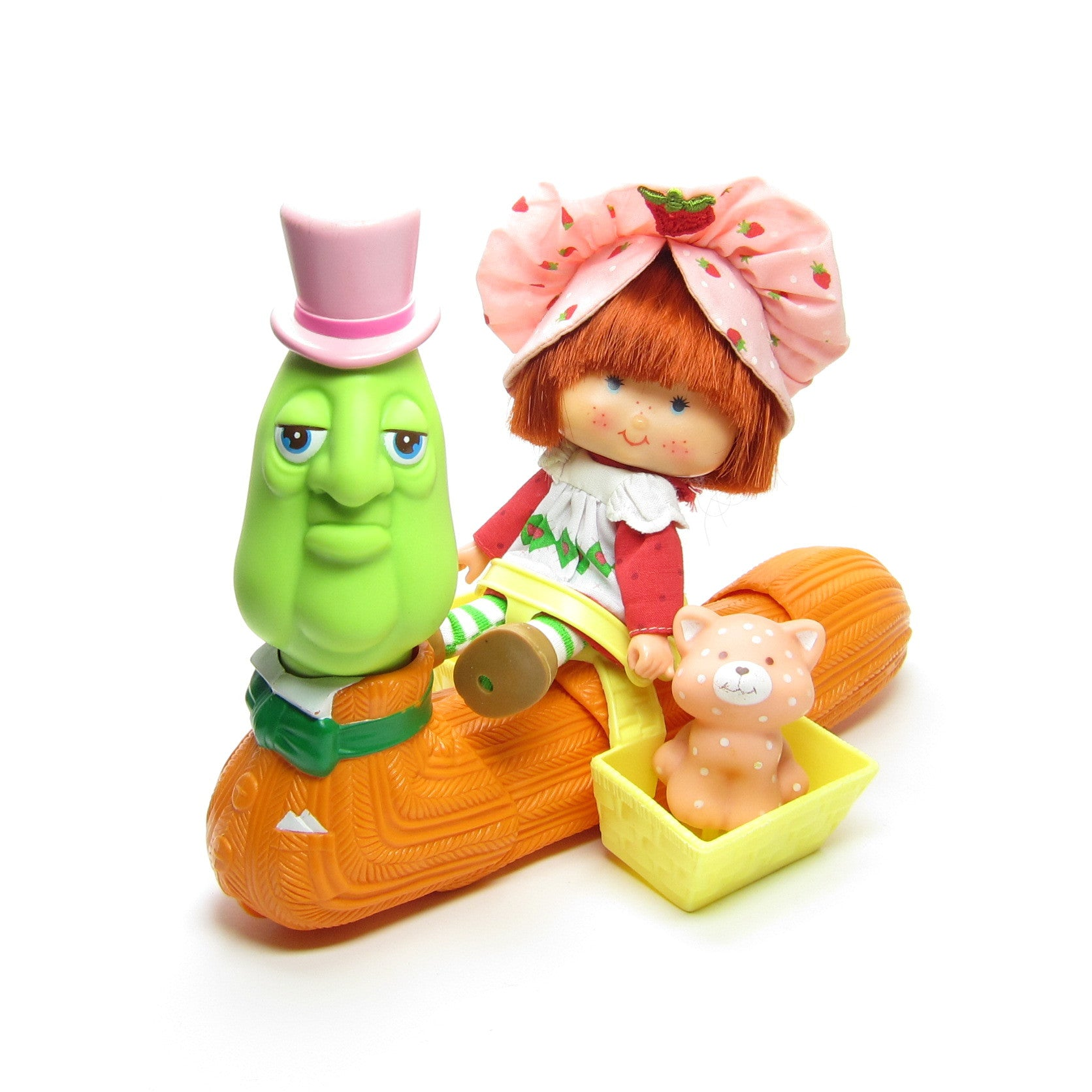 Berry Merry Worm Philbert Wormly Strawberry Shortcake toy