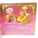 Strawberry Shortcake tricycle and flitter bit butterfly