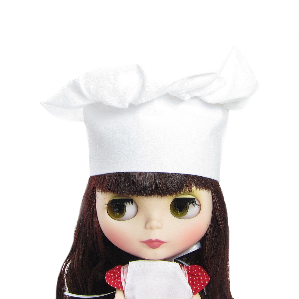 White chef's hat for Blythe