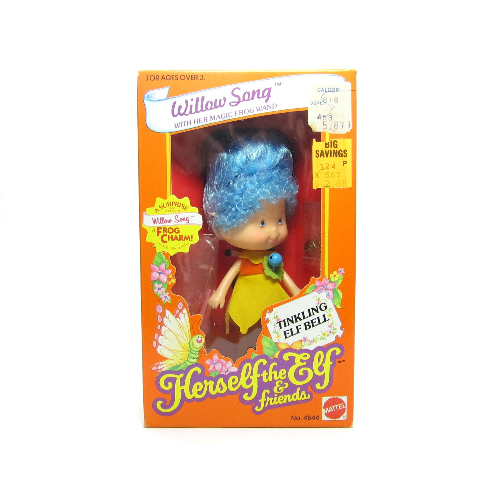 Herself the Elf Willow Song doll MIB
