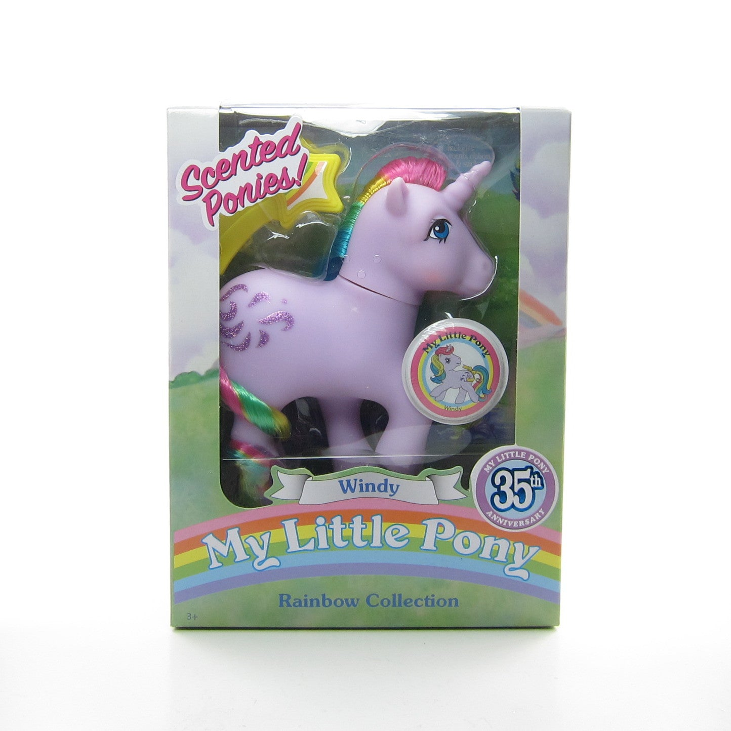 Windy Scented Ponies My Little Pony 35th Anniversary