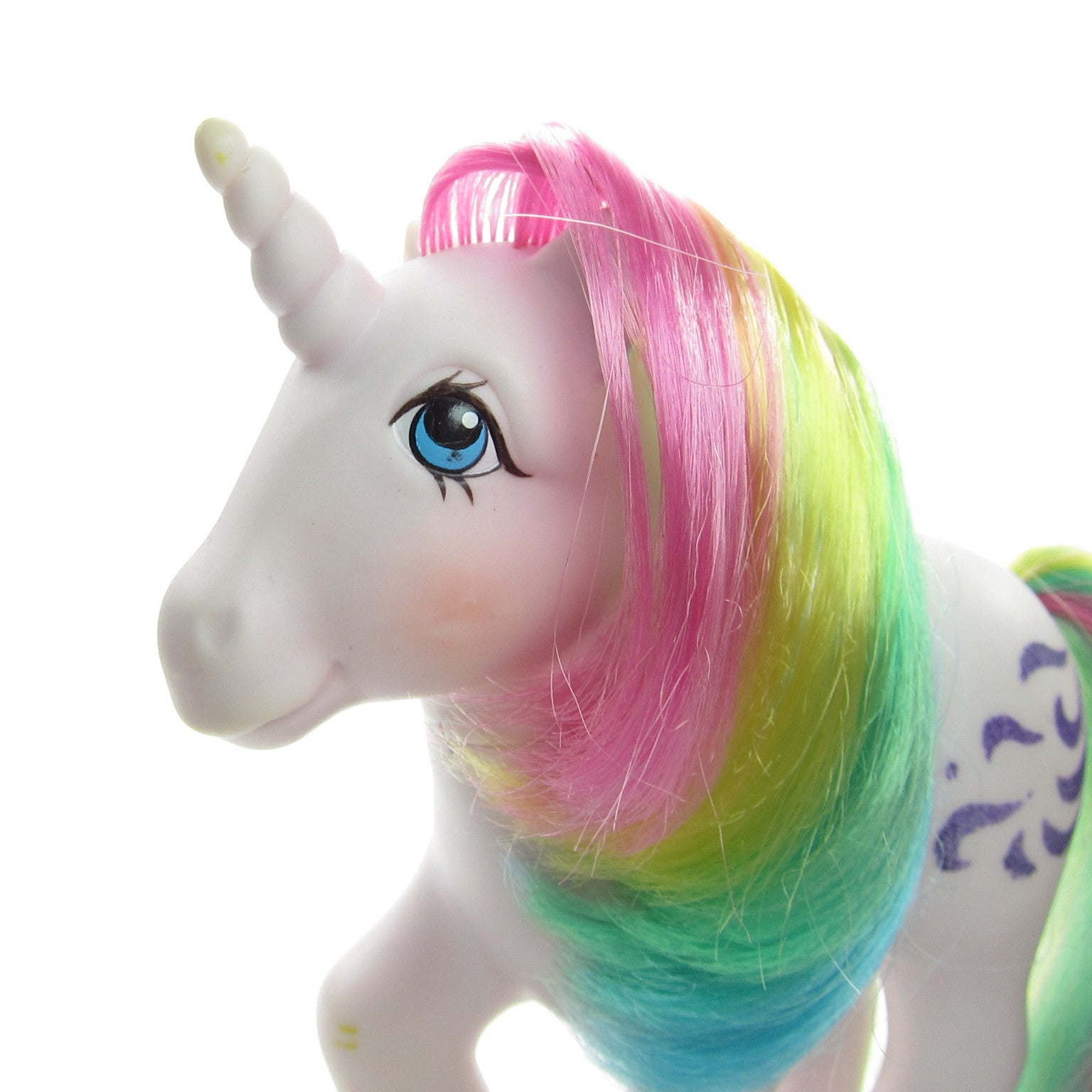 Yellow My Little Pony With Pink And Purple Hair Windy My