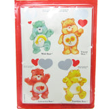 Vintage Care Bears valentine's day cards with envelopes