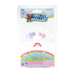 World's Smallest My Little Pony Cotton Candy and Blue Belle miniatures