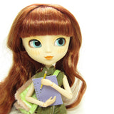 Pullip doll with notebook and pencil