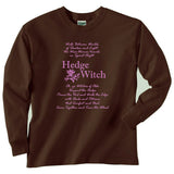 Vintage Look Hedgewitch Long Sleeve Tee