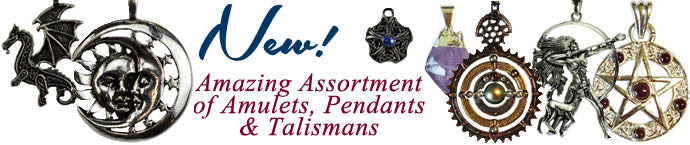 Amazing Assortment of Amulets, Pendants & Talismans