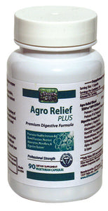 Agro Relief Enzymes without Probiotics--90 Capsules