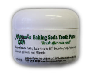 Nature's Gift® Baking Soda Tooth Paste 2oz
