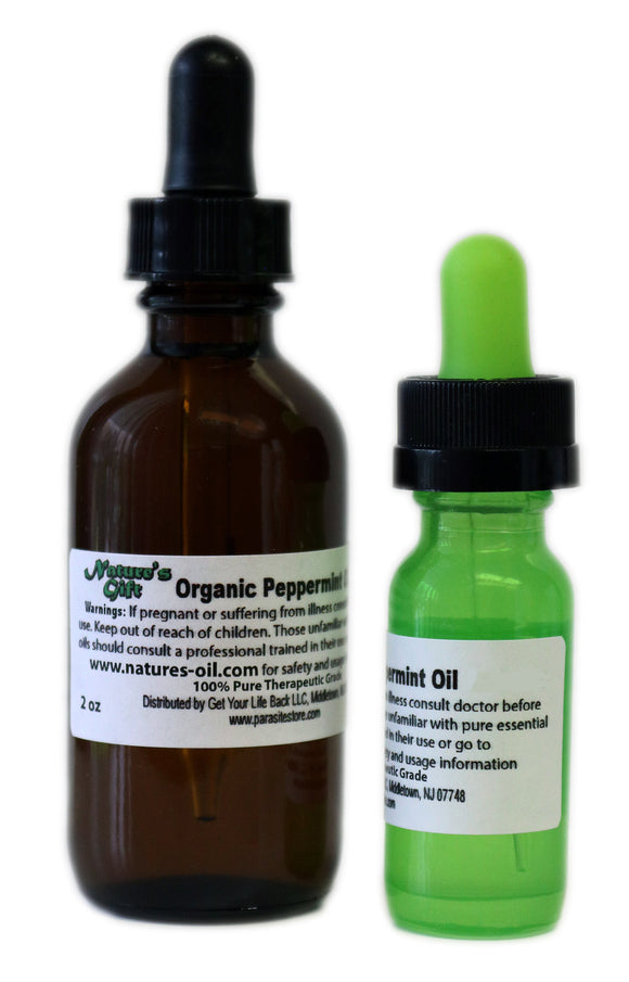Nature's Gift Organic Peppermint Oil (Arvensis)