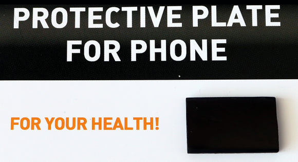 Shungite Cell Phone Plate