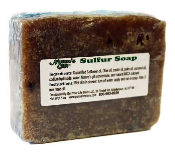 Nature's Gift Sulfur Soap 5oz
