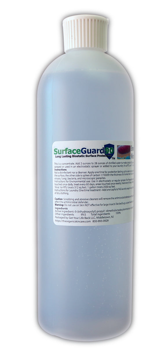 SurfaceGuard Environmental and Laundry AntiMicrobial Defender 16oz