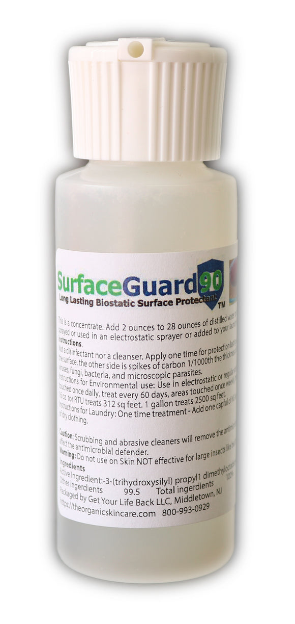 SurfaceGuard Environmental and Laundry Microbial Concentrate 2oz