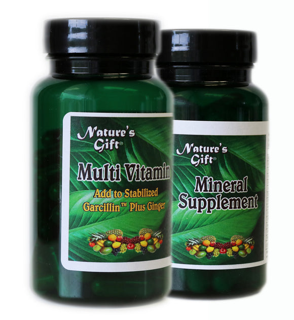Mineral and Multi-Vitamin Combo Pack