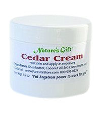 Nature's Gift Cedar Cream - 2 oz