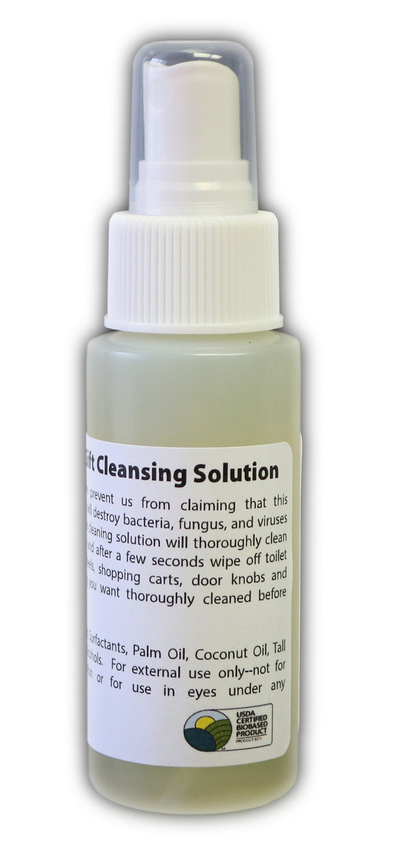 Nature's Gift Cleansing Solution 2oz