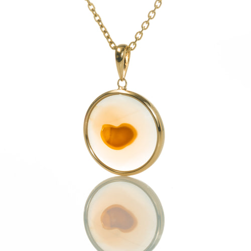 Floating Heart-Necklace-Seal & Scribe