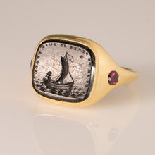 Load image into Gallery viewer, If I Lose You, I Am Lost-Ring-Seal & Scribe