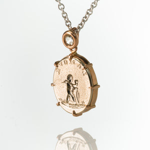 L'Amour Cupid-Necklace-Seal & Scribe