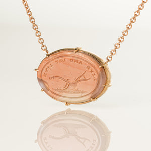 Live and Let Live-Necklace-Seal & Scribe