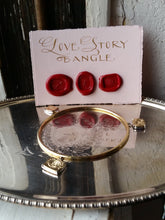 Load image into Gallery viewer, Love Story bangle-Bracelet-Seal & Scribe